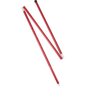 MSR Adjustable Pole 8 FT 208-259 cm Red